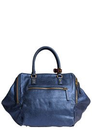 Liebeskind Metallic Suede Kayla Bag - Blue