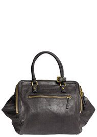 Liebeskind Metallic Suede Kayla Bag - Black