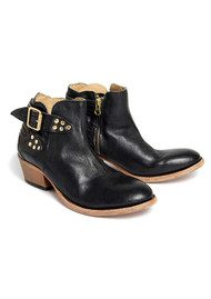 H By Hudson Bora Calf Ankle Boots - Black