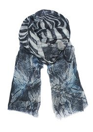 Lily and Lionel Starla Modal Scarf - Salmon & Charcoal