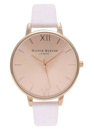 Olivia Burton EXCLUSIVE Big Dial Watch - Rose Gold & Lilac