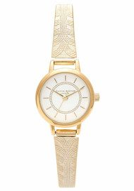 Olivia Burton Colour Crush Mesh Watch - Gold