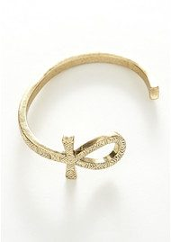 House Of Harlow Knot of Isis Cuff - Gold