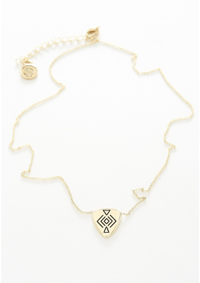 House Of Harlow Mini Plectra Pendant Necklace - Gold main image