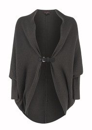Great Plains Cocoon Knit Cardigan - Grouse