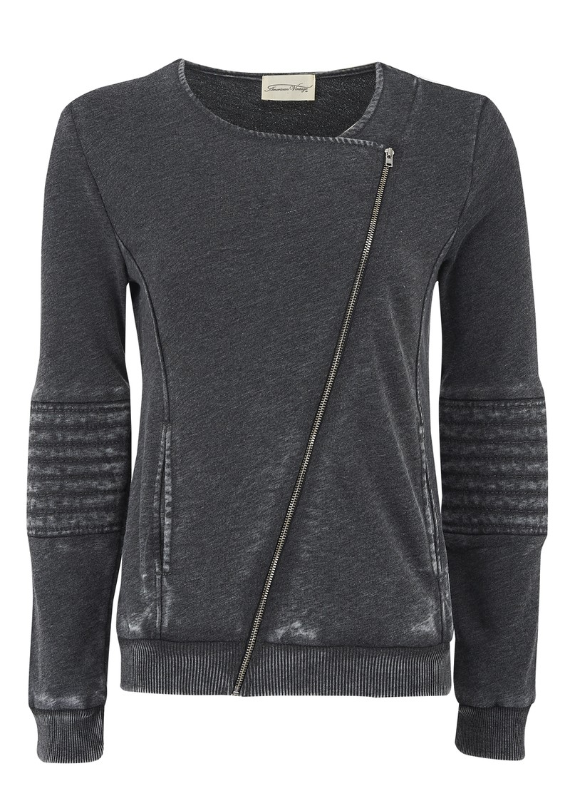 Rexburg Zipped Jumper - Carbon Melange main image
