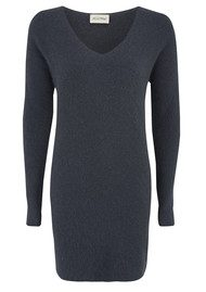 American Vintage Nine Nile Falls Knitted Dress - Slate