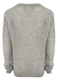 American Vintage Owatonna Mohair Knit Jumper - Heather Grey