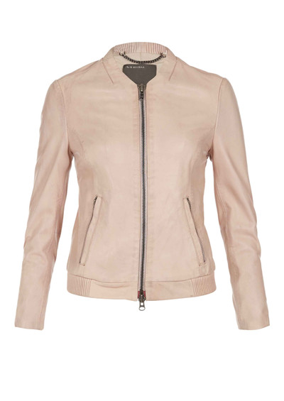 Muubaa Steenbras Leather Jacket - Nude main image