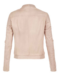 Muubaa Steenbras Leather Jacket - Nude
