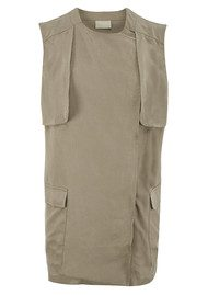 Pyrus Maya Sleeveless Jacket - Birch
