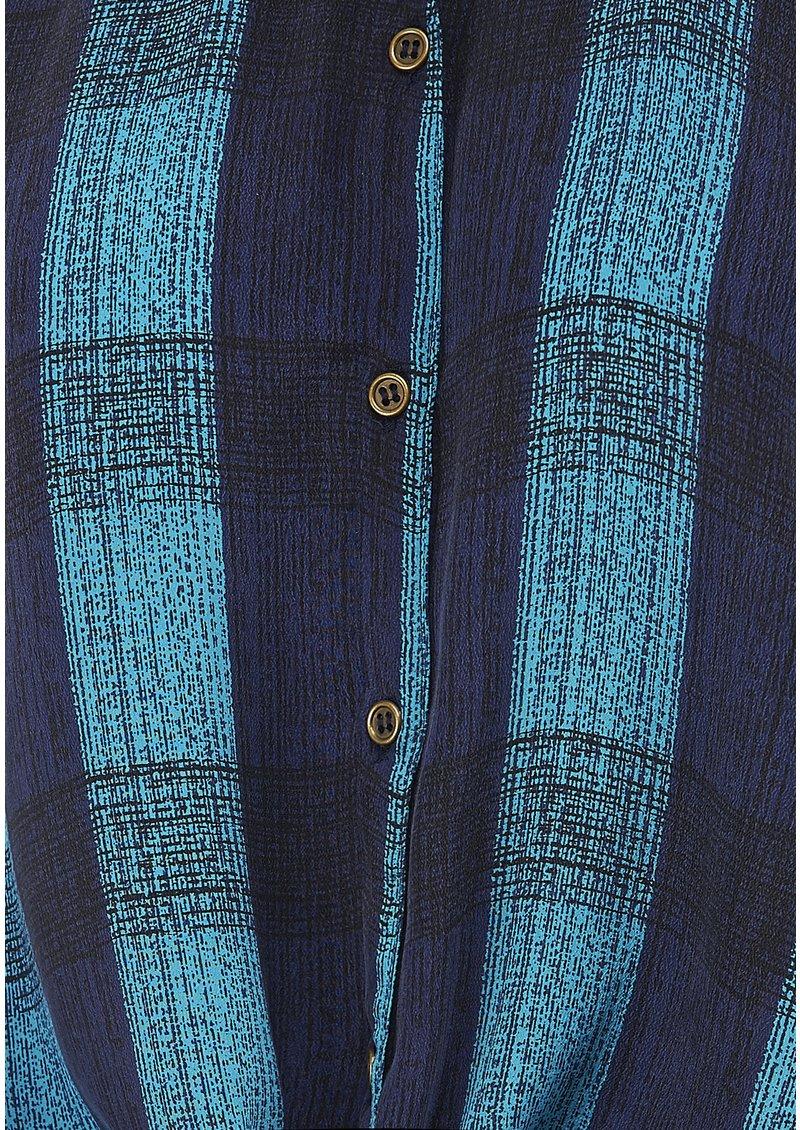 Pyrus January Check Shirt - Blue main image