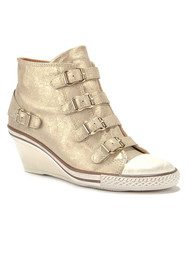 Ash Genial Low Wedge Trainers - Platine