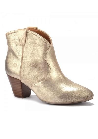 Ash Jalouse Ankle Boots - Platine main image