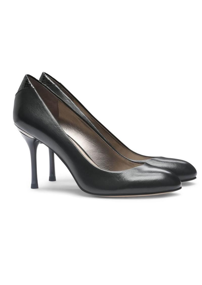 Sam Edelman Camdyn Leather Low Heels - Black main image