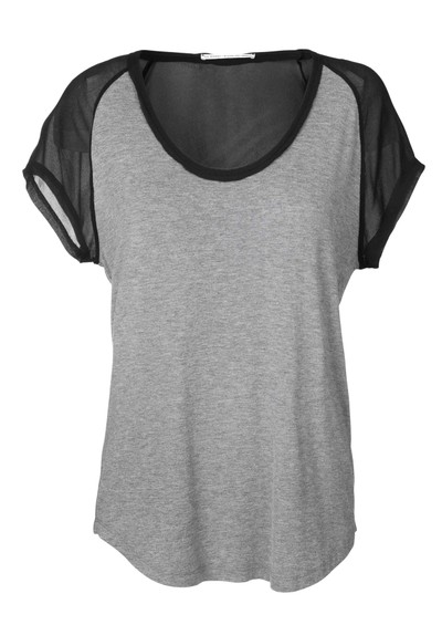 Day Birger et Mikkelsen  Lotus T Shirt - Grey Melange main image