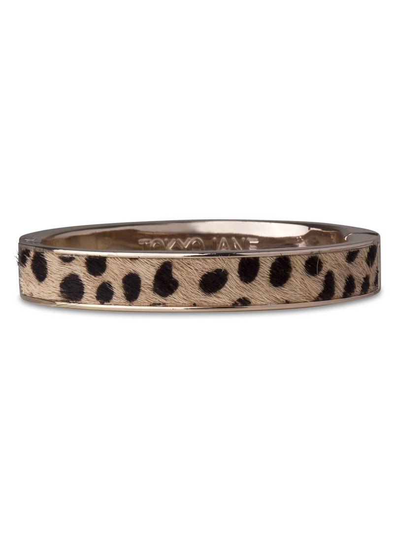 Mieke Leopard Bangle - Leopard & Gold main image