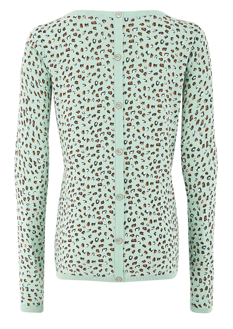 Maison Scotch Signature Crew Neck Jumper - Mint main image