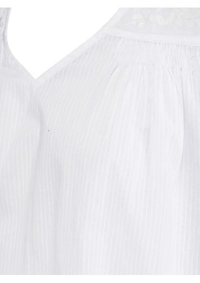 Juniper Rose Esme Sleeveless Top - White main image