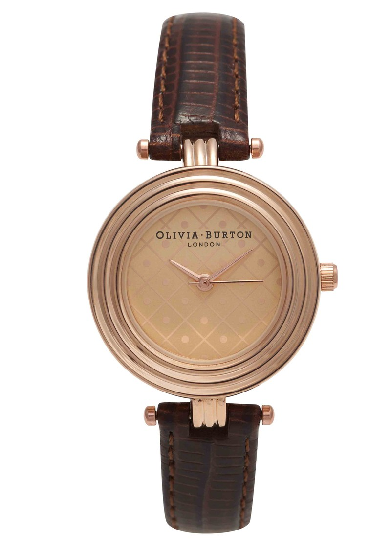 Modern Vintage Watch - Cognac  main image