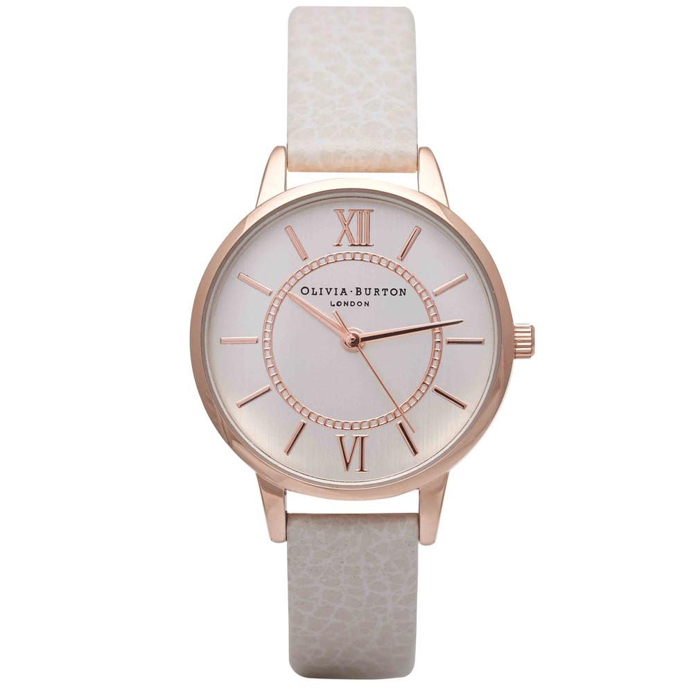 Wonderland Watch - Mink & Rose Gold
