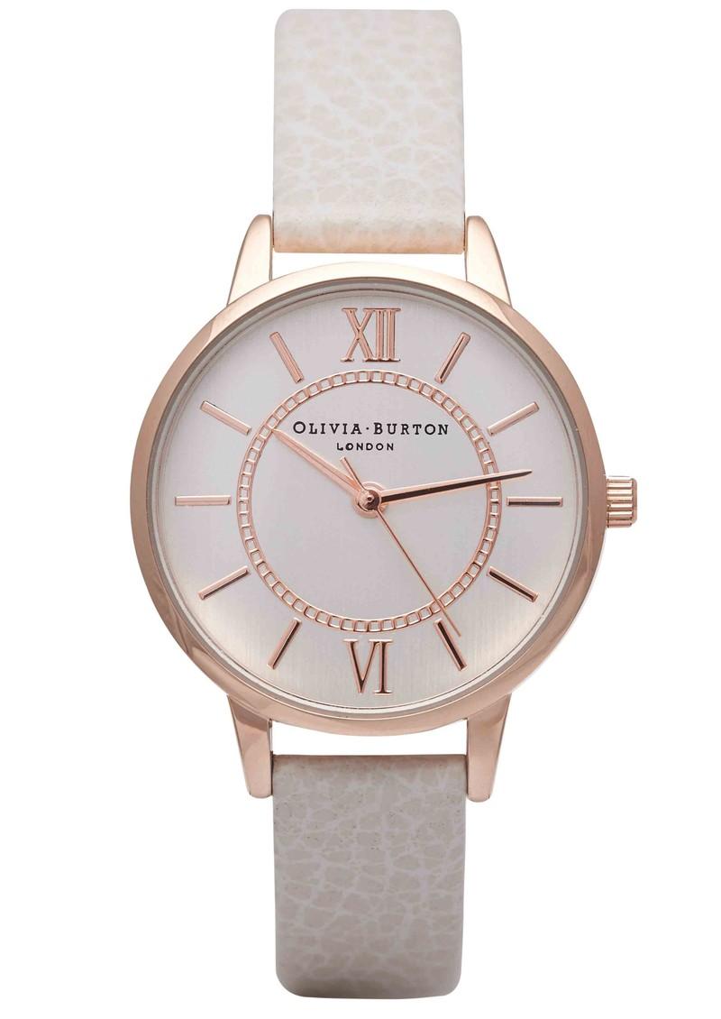 Olivia Burton Wonderland Watch - Mink & Rose Gold main image