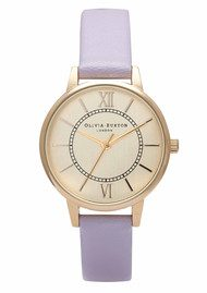 Olivia Burton Wonderland Watch - Lilac & Gold