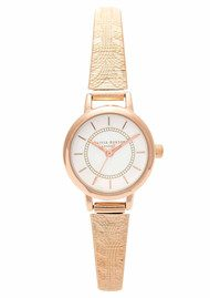 Olivia Burton Colour Crush Mesh Watch - Rose Gold