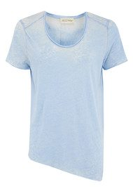 American Vintage Theo Short Sleeve Top - Crystal