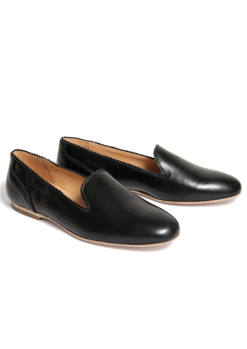 Hudson London Cosette Flat Pumps - Black main image