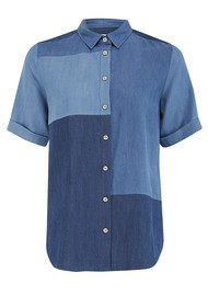 Paul & Joe Sister Bricole Denim Shirt - Denim