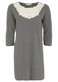 Great Plains Sofia Stripe Lace Dress - Blue