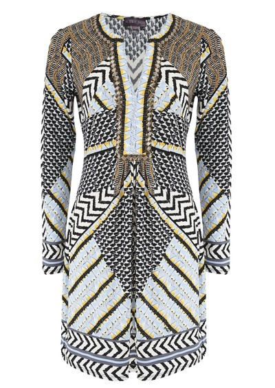 Hale Bob Embellished Printed Dress - Print  main image