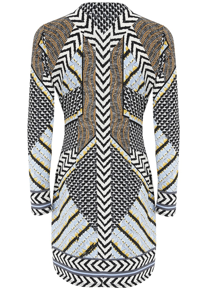 Embellished Printed Dress - Print  main image