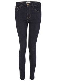 Current/Elliott The High Waist Ankle Skinny Jeans - Rinse
