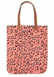 Becksondergaard H Tote Blurred Leo Bag - Dusty Peach