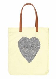 Becksondergaard H Tote Heart Bag - Soft Citrus