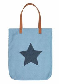 Becksondergaard H Supersize Star Tote Bag - Blue Sky