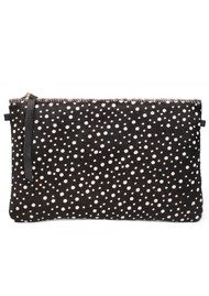 1951 Maison Francaise  Pochette Clutch Bag - Pois Black & White