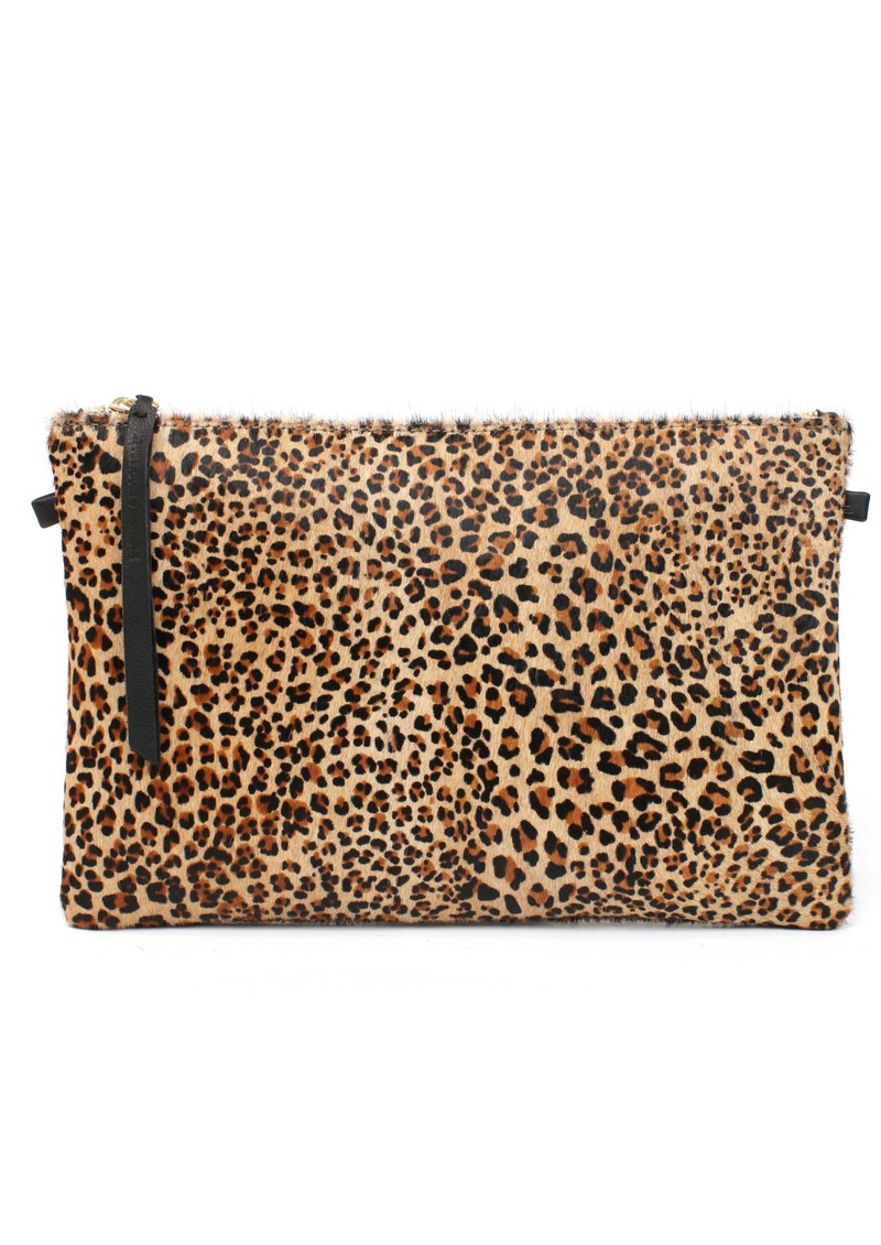 Pochette Clutch Bag - Leopard main image