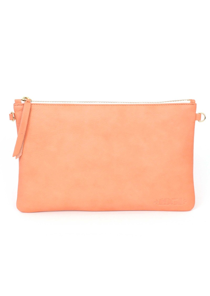 Pochette Clutch Bag - Coral main image