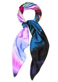 Weston Scarves Atmospheric Agate Silk Scarf - Agate