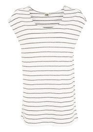 Twist & Tango Nadja Top - White & Grey