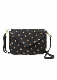 Becksondergaard Hawaii Star Leather Bag - Black & Gold