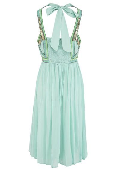 Blank Agniva Dress - Blue main image