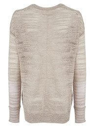 American Vintage Gold River Long Sleeve Knit - Nude