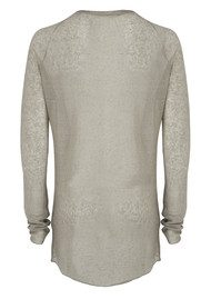 American Vintage Eve Long Sleeve Jumper - Granite