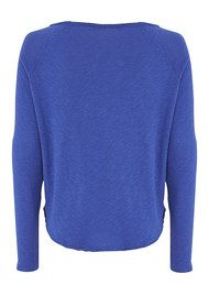 American Vintage Sonoma Long Sleeve Top - Indigo