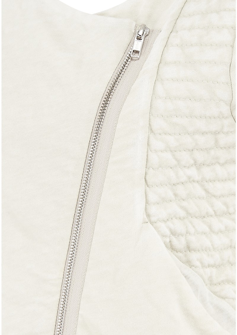 Rexburg Zipped Jacket - Chalk Melange main image
