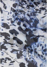 Lily and Lionel Aura Denim Modal Scarf - Denim